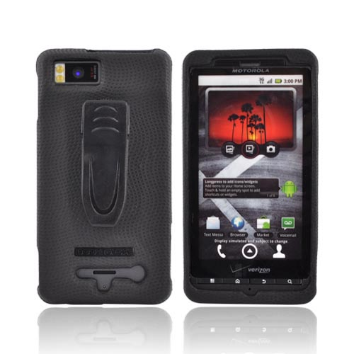 Body Glove Snap-On Case for Motorola Droid X MB810 (Black)
