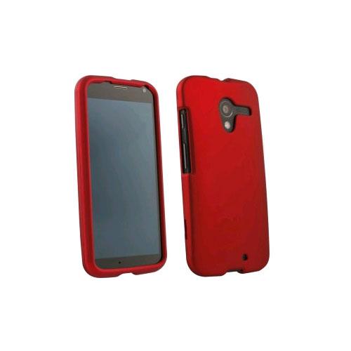 WXG Rubberized Protective Shield for Motorola X XT1056 - Red