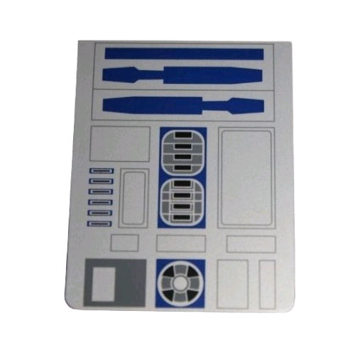 OEM Motorola DROID 2 R2D2 Battery Door with Star Wars Graphics
