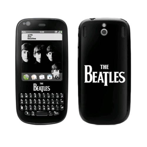MusicSkins The Beatles Logo Skin for Palm Pixi
