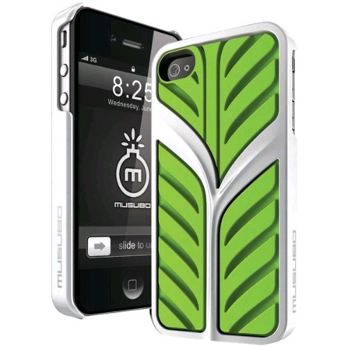Musubo Eden Case for Apple iPhone 4/4S - Green