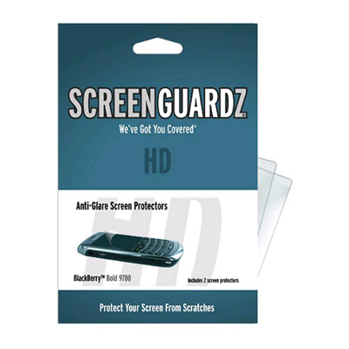 BodyGuardz - ScreenGuardz HD Screen Protector for BlackBerry Bold 9700/9780 - Transparent