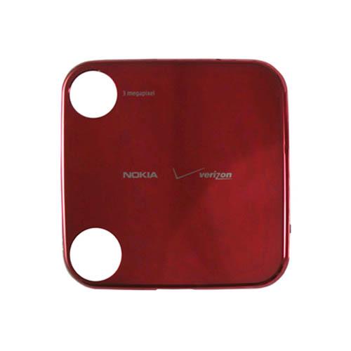 OEM Nokia 7705 Twist Battery Door, Standard size - Red (Bulk Packaging)