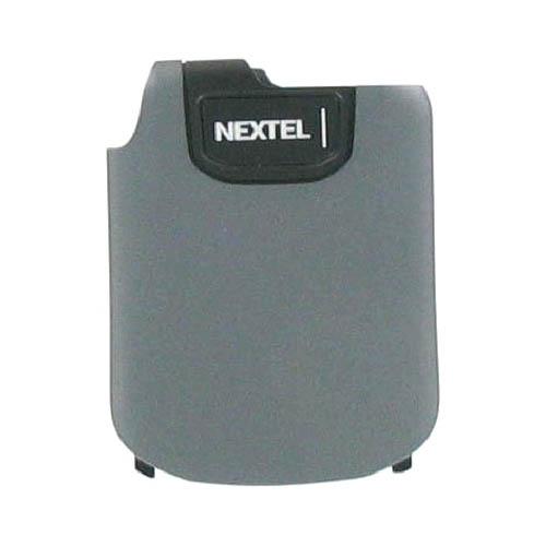 OEM Nextel IC902 Standard Replacement Battery Door - Charcoal Gray
