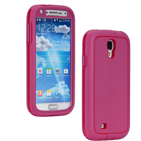 Case-Mate Tough Case for Samsung Galaxy S4 (Pink/Red)