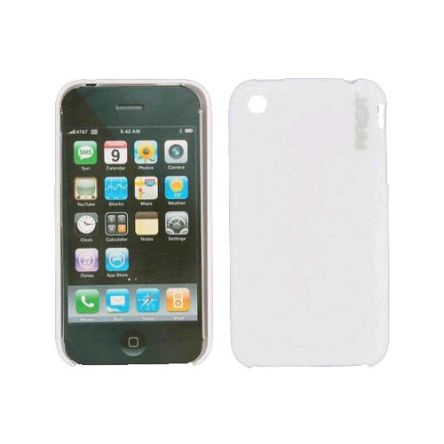 Wireless Genius Skin Cover Shell Case for Apple iPhone 3G/3GS - White