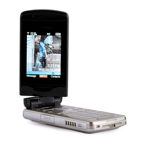 Verizon Casio EXILIM c721 Replica Dummy Phone / Toy Phone (Black) (Bulk Packaging)