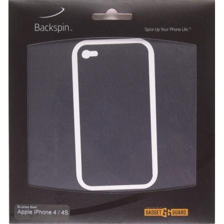 Gadget Guard Backspin Brushed Film for Apple iPhone 4/4S (Steel)