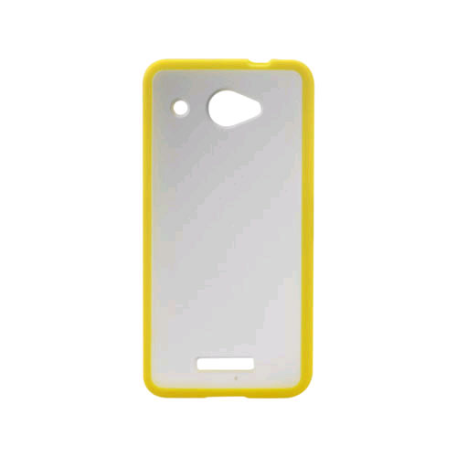 Reiko - PC/TPU Slim Protector Cover for HTC Droid DNA / HTC DLX - Yellow