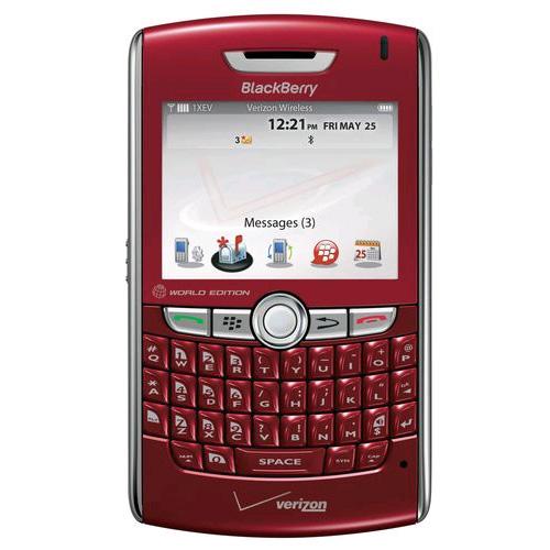 BlackBerry 8830 Replica Dummy Phone / Toy Phone (Red) (Bulk Packaging)