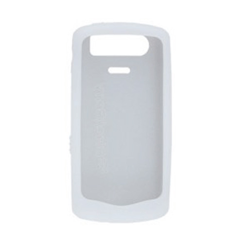 Alltel Wireless 2 Pack Silicone Gel Cases for BlackBerry Pearl 8130 (White/Clear and Black)