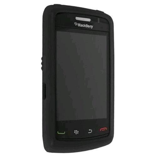 OEM Verizon Silicone Case for BlackBerry 8530  - Black