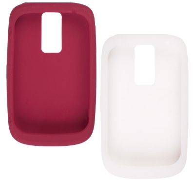 OEM BlackBerry Bold 9000 Gel Skin Case - (Red & White)