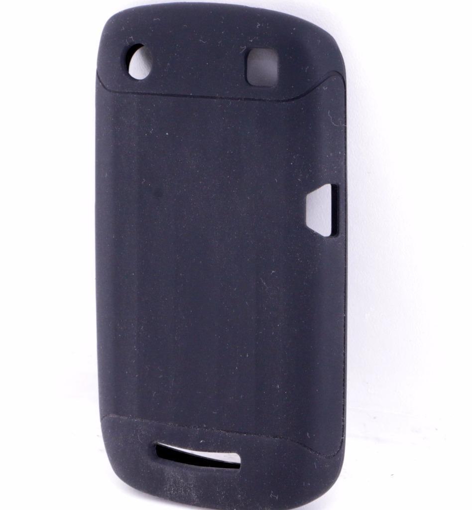 Verizon Silicone case for Blackberry Curve 9370 - Black