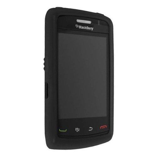 OEM Verizon BlackBerry 9550 Storm 2 Silicone Case - Black (Bulk Packaging)