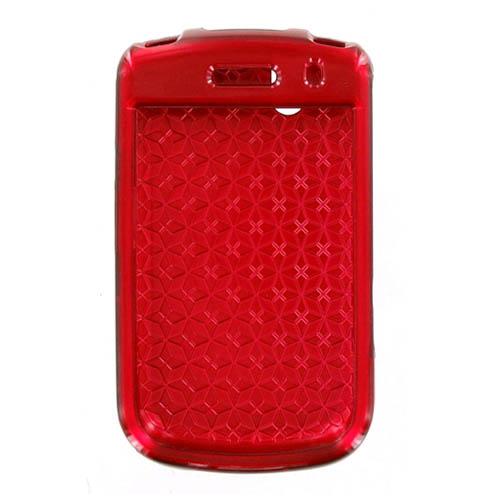 BlackBerry Bold 9650 Tour 9630 Snap On Case - Red (Bulk Packaging)