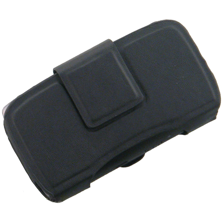 OEM Verizon BlackBerry Leather Side Pouch for Curve 8530, Storm 9530, Storm 2 9550, Tour 9630, Bold (Black)