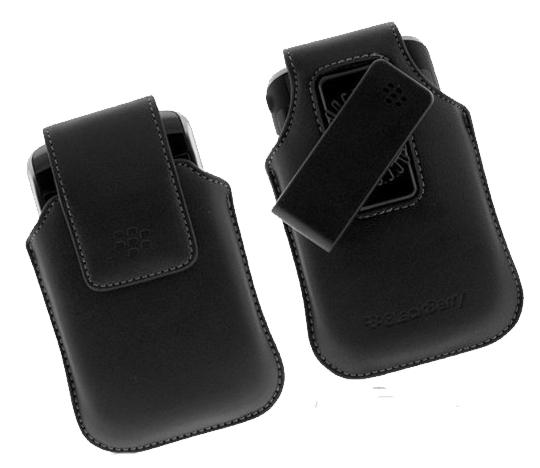 OEM BlackBerry Storm 9530 Synthetic Swivel Holster HDW-19819-001 (Black) (Bulk Packaging)