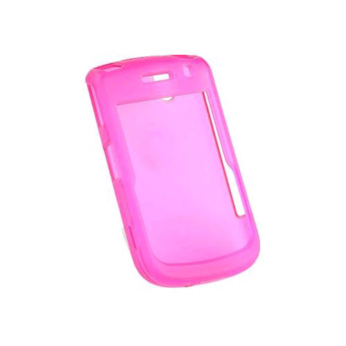 Verizon Snap-On Hard Case for BlackBerry Bold 9650, Tour 9630 (Translucent Pink) (Bulk Packaging)