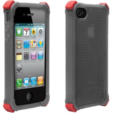 Ballistic Life Style Case for Apple iPhone 4/4S - Smoke (SA0722-M115)