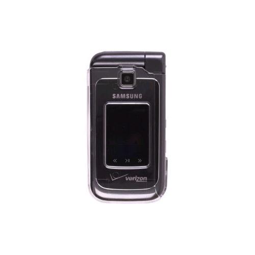 OEM Verizon Samsung U750 Alias 2 Snap-On Case - Clear (Bulk Packaging)