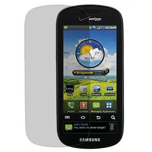 OEM Verizon Samsung Continuum SCH-I400 Anti-Glare Screen Protectors (Clear, 3-Pack) (Bulk Packaging)