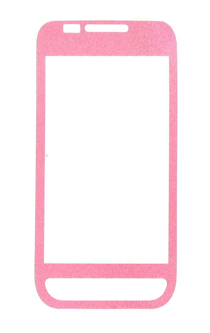 OEM Verizon Samsung Fascinate SCH-I500 Glitter Screen Protector (Pink) (Bulk Packaging)