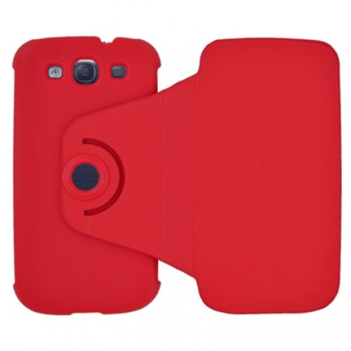 Aimo Wireless Samsung Galaxy S III Case with Flip Action (Red)