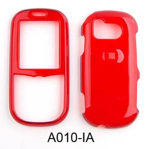 Snap-On Protector Case for Samsung Intensity U450 (Trans. Dark Red)