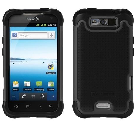 Ballistic SG Case for LG Viper LS840 (Black/Gray)