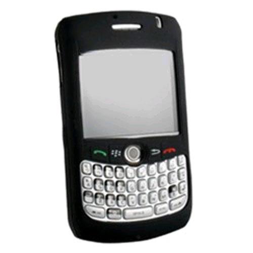 WirelessXGroup Silicone Skin Case for Blackberry Curve 8300 - Black