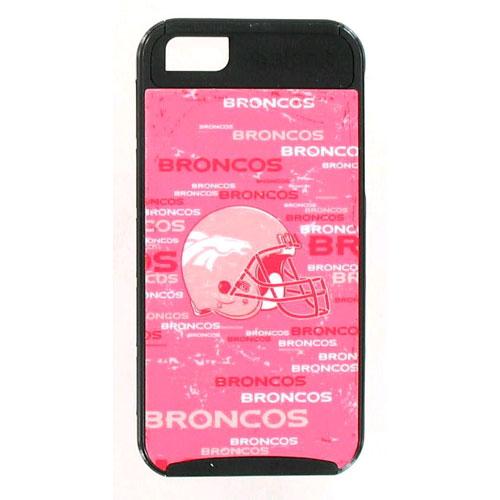 NFL Skinit Cargo Hybrid Case for Apple iPhone 5 - Lady Broncos
