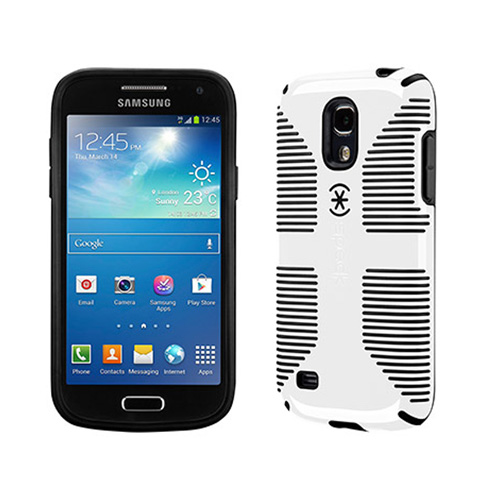 Speck CandyShell Grip Case for Samsung Galaxy S4 Mini (White/Black)