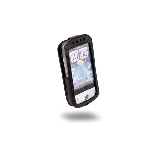 Sydney Harbour Lambskin Leather Case for HTC Hero G3 (Black)