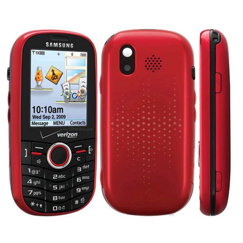 Samsung Intensity SCH-U450 Replica Dummy Phone / Toy Phone (Red) (Bulk Packaging)