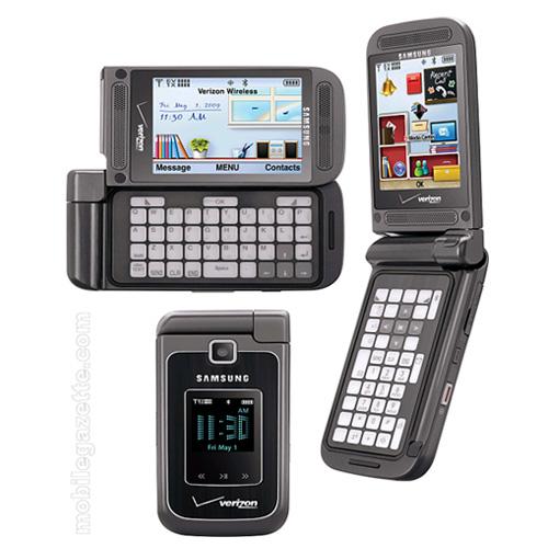 Samsung Alias 2 SCH-U750 Dummy Phone / Toy Phone (Dark Gray)