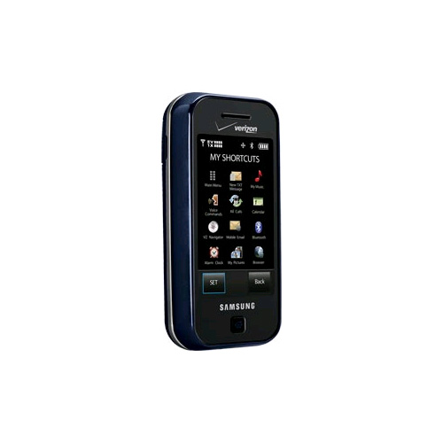 Samsung Glyde SCH-U940 Replica Dummy Phone / Toy Phone (Blue) (Bulk Packaging)