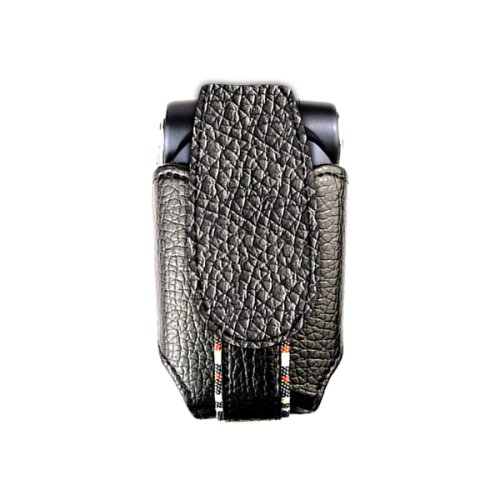 Technocel - USCBSBK Blossom Shox Case - Black Leather