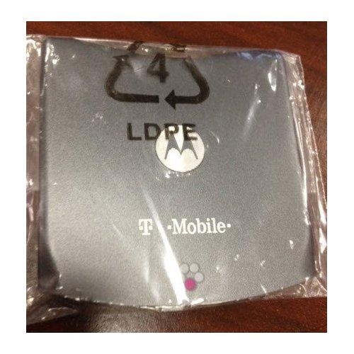 OEM Motorola V3G Battery Door with T-mobile Logo - Gray