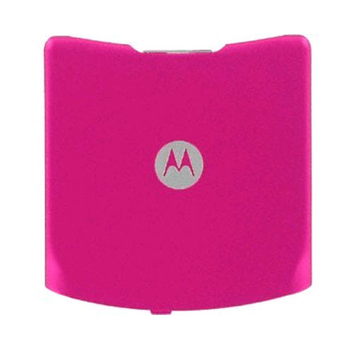 OEM Motorola V3G Standard Battery Door Cover - Pink