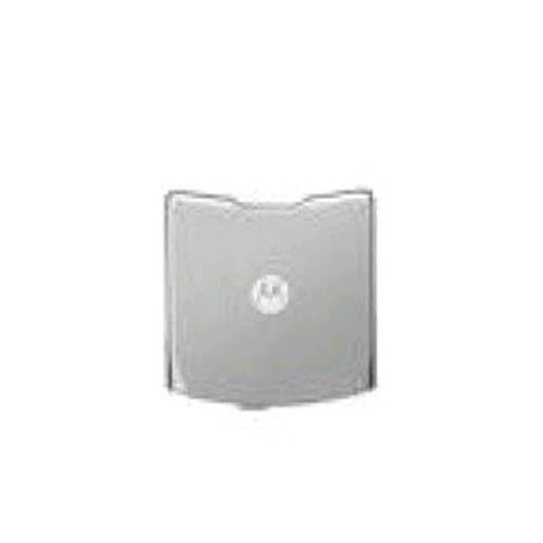 OEM Motorola V3E Standard Battery Door - Silver