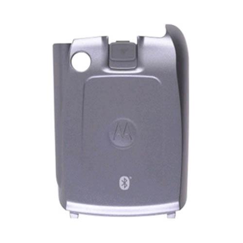 OEM Motorola V710 Standard Battery Door - Silver