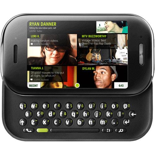 Microsoft Kin 2 Replica Dummy Phone / Toy Phone (Black) (Bulk Packaging)