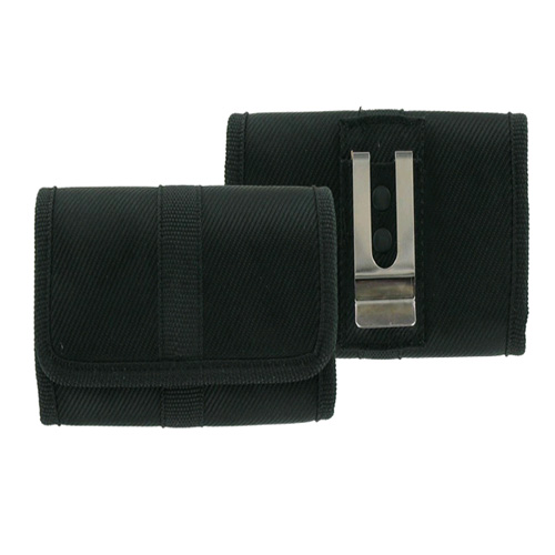 OEM Verizon Rugged Heavy-Duty Horizontal Pouch for Casio G'ZOne Brigade (Black) (Bulk Packaging)