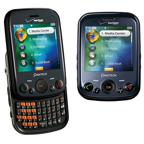 Pantech Jest TXT8040 Replica Dummy Phone / Toy Phone (Black) (Bulk Packaging)