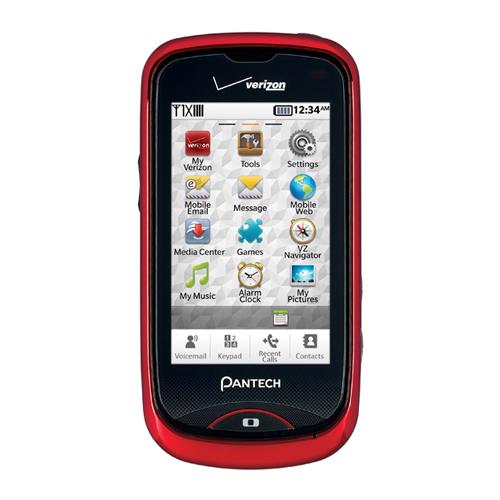 Pantech 8992 HotShot Replica Dummy Phone / Toy Phone (Red) (Bulk Packaging)
