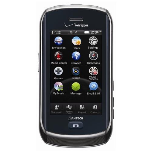 Pantech Crux VZW8999 Replica Dummy Phone / Toy Phone (Black) (Bulk Packaging)