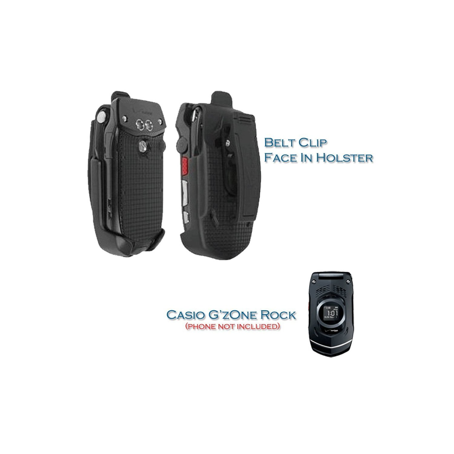 OEM Verizon Belt Clip Holster for Casio G'zOne Rock C731