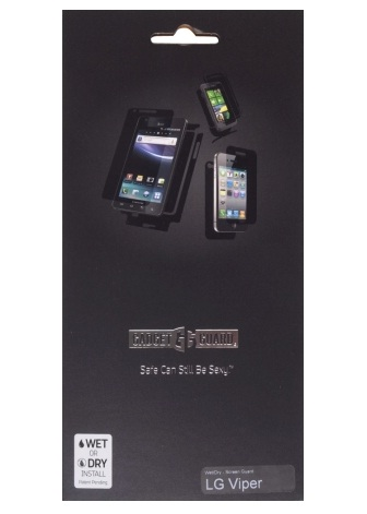 Gadget Guard Invisible Screen Protector for LG LS840 Viper - Clear
