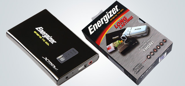 Energizer Universal Rechargeable Power Pack XP4000
